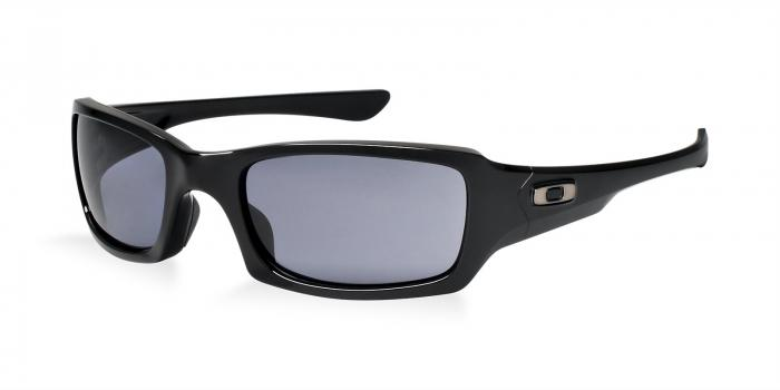 Gafas de sol Oakley NEW FIVES SQUARED OO9238 923804 POLISHED BLACK - GREY