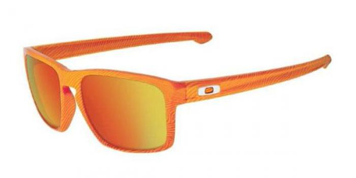 Gafas de sol Oakley OO9262 SLIVER 926216 FINGERPRINT ATOMIC ORANGE - FIRE IRIDIUM