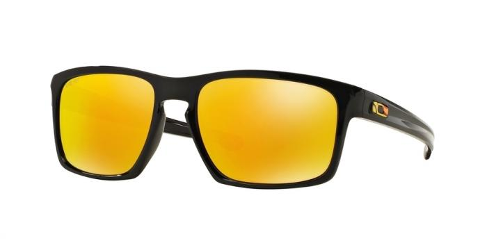 Gafas de sol Oakley OO9262 SLIVER 926227 POLISHED BLACK (VR/46) - FIRE IRIDIUM