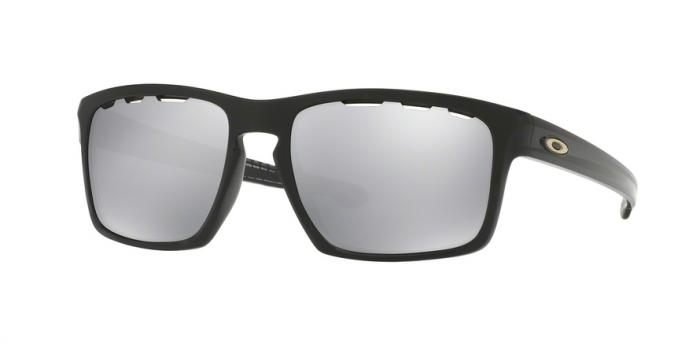Gafas de sol Oakley OO9262 926242 POLISHED BLACK - CHROME IRIDIUM VENTED