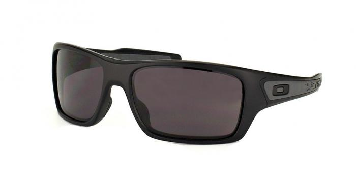 Gafas de sol Oakley TURBINE OO9263 926301 MATTE BLACK - WARM GREY