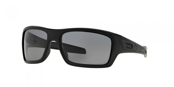 Gafas de sol Oakley TURBINE OO9263 926307 MATTE BLACK - GREY POLARIZED