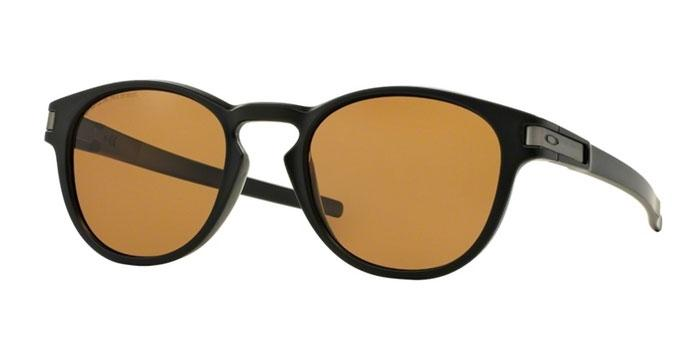 Gafas de sol Oakley OO9265 LATCH 926507 MATTE BLACK - BRONZE POLARIZED