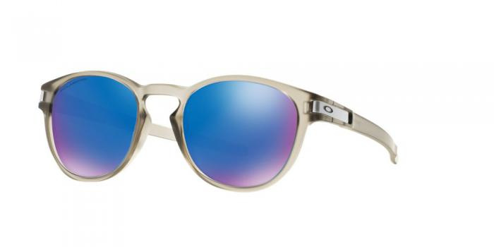Gafas de sol Oakley OO9265 LATCH 926508 MATTE GREY INK - SAPPHIRE IRIDIUM POLAR