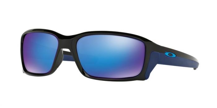 Gafas de sol Oakley OO9331 STRAIGHTLINK 933104 POLISHED BLACK - SAPPHIRE IRIDIUM