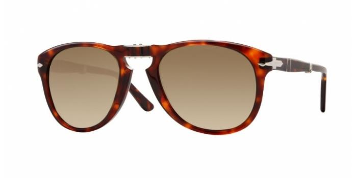 Gafas de sol Persol PO0714 FOLDING 24/51 HAVANA - CRYSTAL BROWN GRADIENT