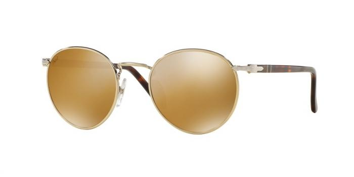 Gafas de sol Persol PO2388S SUPREMA 1016W4 LIGHT GOLD - LIGHT BROWN MIRROR GOLD