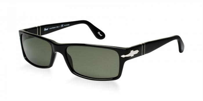Gafas de sol Persol PO2747S 95/48 BLACK - CRYSTAL GREEN POLARIZED