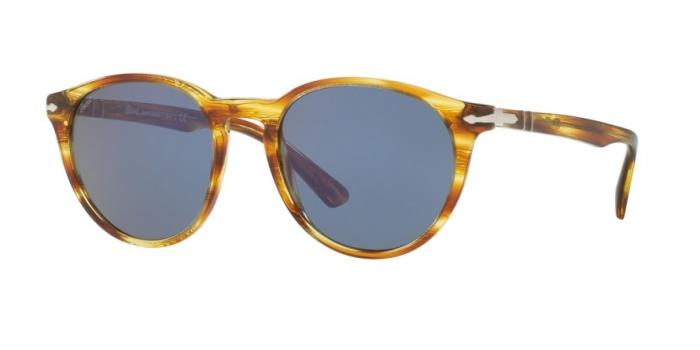Gafas de sol Persol PO3152S 904356 STRIPED BROWN YELLOW - BLUE