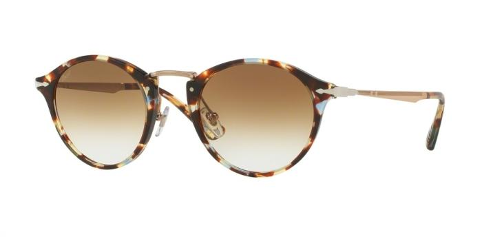 Gafas de sol Persol PO3166S 105851 HAVANA/AZURE-BROWN - CLEAR GRADIENT BROWN