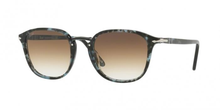Gafas de sol Persol PO3186S 106251 SPOTTED BLUE DARK GREY - CLEAR GREDIENT BROWN