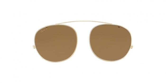 Gafas de sol Persol PO7007C 515/83 GOLD - DARK BROWN - POLAR