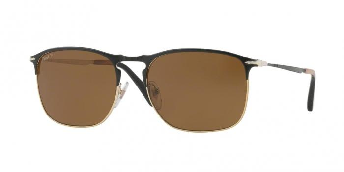 Gafas de sol Persol PO7359S 107057 MATTE BLACK/GOLD - POLAR BROWN