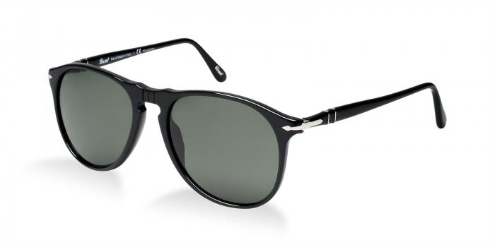 Gafas de sol Persol PO9649S 95/58 BLACK - CRYSTAL GREEN POLARIZED