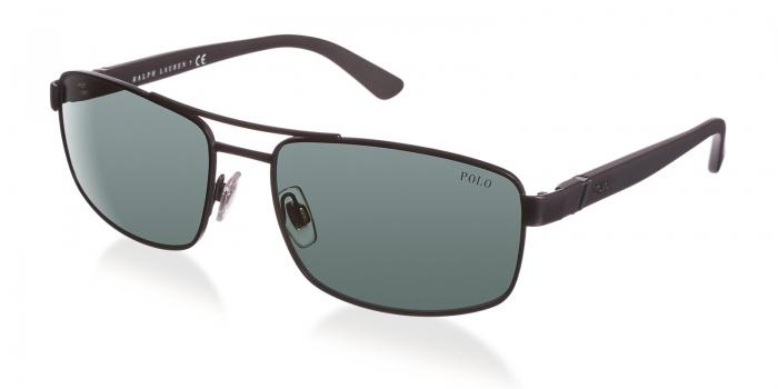 Gafas de sol Polo Ralph Lauren PH3086 903871 MATTE BLACK - GRAY GREEN