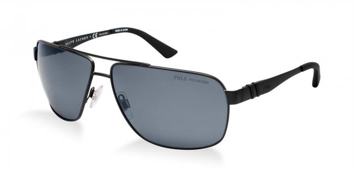 Gafas de sol Polo Ralph Lauren PH3088 903881 MATTE BLACK - POLAR GREY