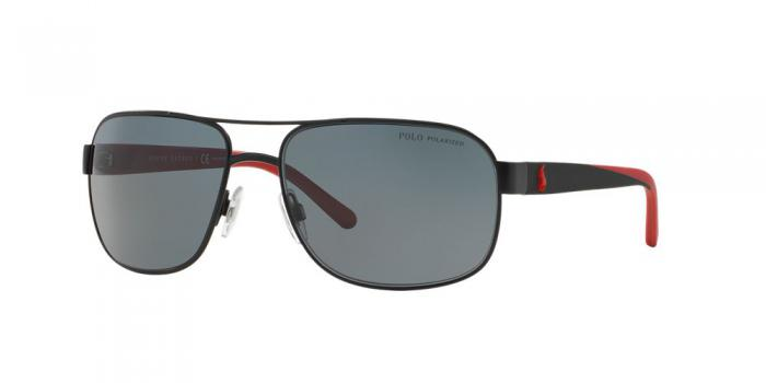 Gafas de sol Polo Ralph Lauren PH3093 927781 MAT BLACK - POLAR GREY