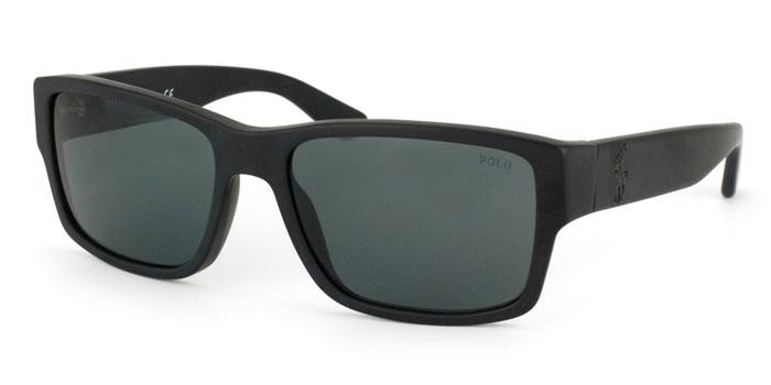 Gafas de sol Polo Ralph Lauren PH4061 500187 MATTE BLACK - GRAY
