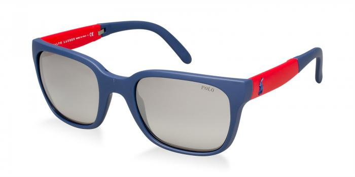 Gafas de sol Polo Ralph Lauren PH4089 53406I RUBBER BLUE - GREY GRADIENT MIRROR SILVER