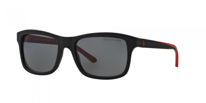 Gafas de sol Polo Ralph Lauren PH4095 550481 MATTE BLACK - POLAR GREY