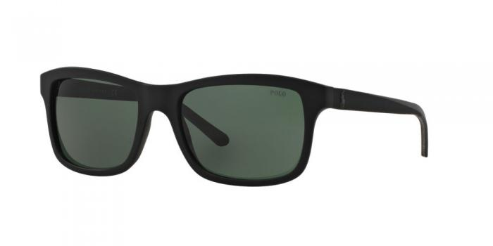 Gafas de sol Polo Ralph Lauren PH4095 552371 MATTE BLACK - GREEN
