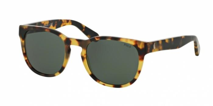 Gafas de sol Polo Ralph Lauren PH4099 500471 VINTAGE HAVANA SPOTTY - GREEN