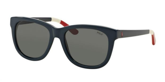 Gafas de sol Polo Ralph Lauren PH4105 556987 SHINY NAVY BLUE - BLUE-GREY