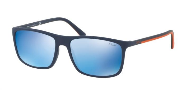 Gafas de sol Polo Ralph Lauren PH4115 560655 MATTE NAVY BLUE - MIRROR BLUE