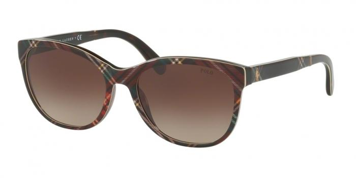 Gafas de sol Polo Ralph Lauren PH4117 562213 BLACK TARTAN - BROWN GRADIENT