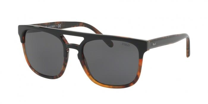 Gafas de sol Polo Ralph Lauren PH4125 526087 TOP BLACK ON JERRY HAVANA - DARK GRAY