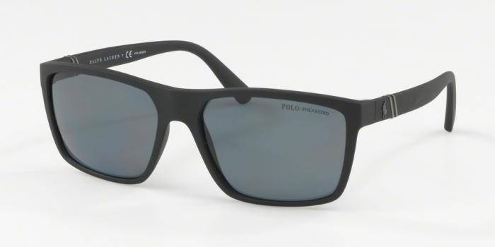 Gafas de sol Polo Ralph Lauren PH4133 528481 MATTE BLACK - POLAR GREY