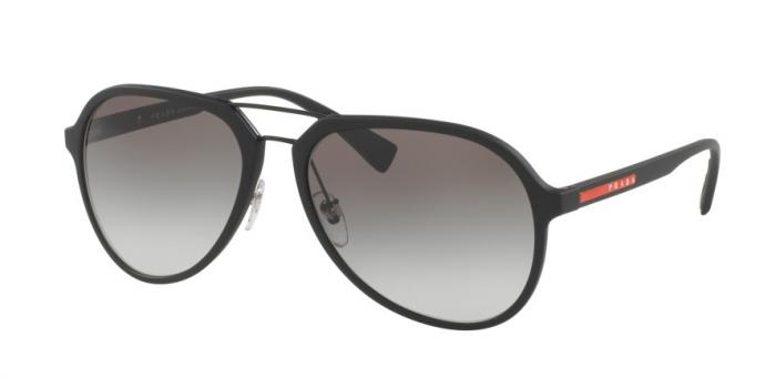 Gafas de sol Prada Linea Rossa PS 05RS DG00A7 BLACK RUBBER - GREY GRADIENT
