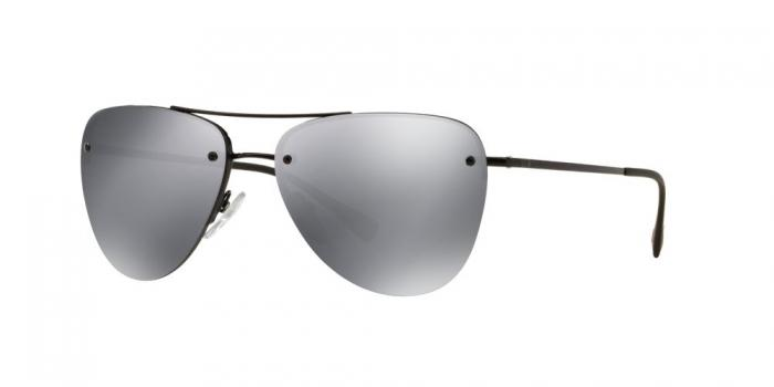 Gafas de sol Prada Linea Rossa PS 53RS 7AX5L0 BLACK - LIGHT GREY MIRROR BLACK