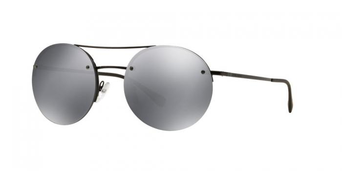 Gafas de sol Prada Linea Rossa PS 54RS 7AX5L0 BLACK - LIGHT GREY MIRROR BLACK