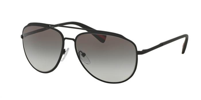 Gafas de sol Prada Linea Rossa PS 55RS DG00A7 BLACK RUBBER - GREY GRADIENT