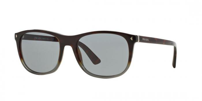 Gafas de sol Prada PR 01RS JOURNAL TKT3C2 DARK HAVANA GRAD OPAL GREY - DARK GREY