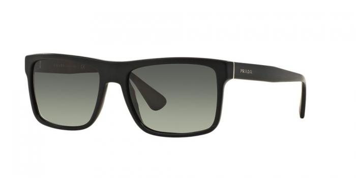 Gafas de sol Prada PR 01SS SL32D0 BRUSHED MATTE BLACK - LIGHT GREY GRADIENT DARK GREY