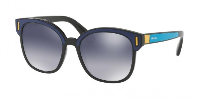 Gafas de sol Prada PR 05US SUI3A0 BLACK/BLUE/YELLOW - LIGHT GREY GRADIENT BLUE