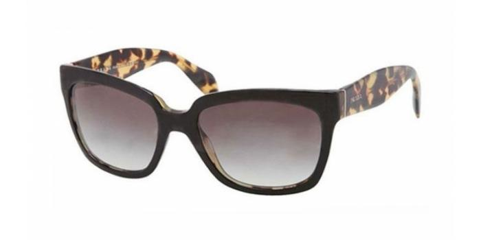 Gafas de sol Prada PR 07PS NAI0A7 TOP BLACK/MEDIUM HAVANA - GRAY GRADIENT