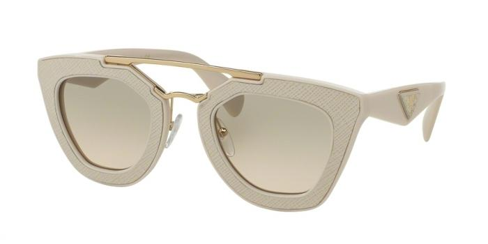 Gafas de sol Prada PR 14SS UFP3H2 IVORY - LIGHT BROWN GRAD LIGHT GREEN