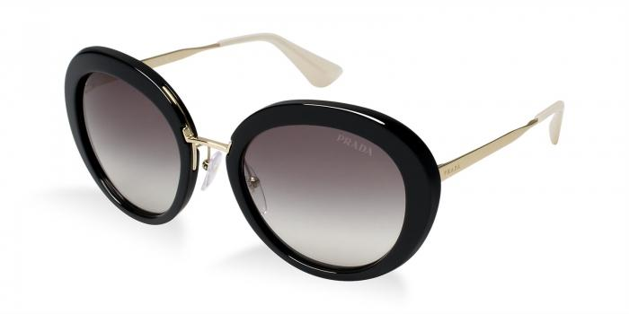 Gafas de sol Prada PR 16QS CINEMA' 1AB0A7 BLACK - GREY GRADIENT
