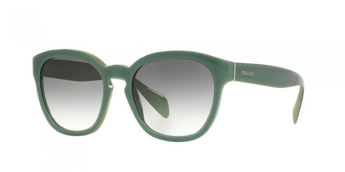 Gafas de sol Prada PR 17RS TKQ1E0 OPAL DARK GREEN ON GREEN - GREEN GRADIENT