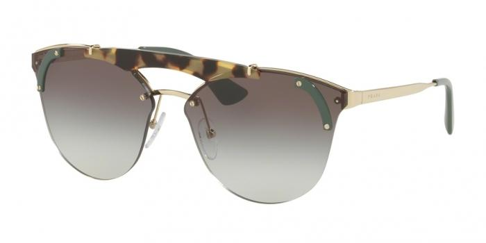 Gafas de sol Prada PR 53US SZ60A7 PALE GOLD/MEDIUM HAVANA/GREEN - GREY GRADIENT