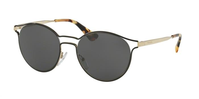 Gafas de sol Prada PR 62SS CINEMA 1AB5S0 BLACK/PALE GOLD - GREY