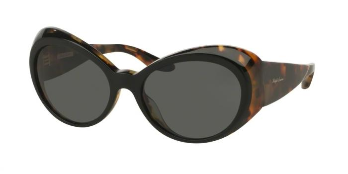 Gafas de sol Ralph Lauren RL8139 557987 TOP BLACK ON SPOTTY HAVANA - GREY