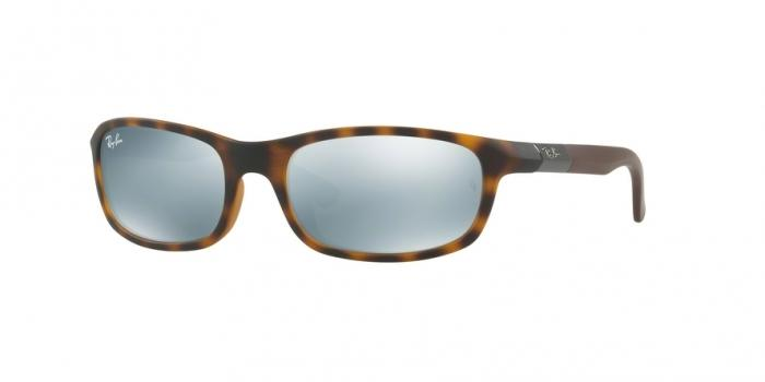 Gafas de sol Ray-Ban Junior RJ9056S 702730 MATTE HAVANA - FLASH GREY
