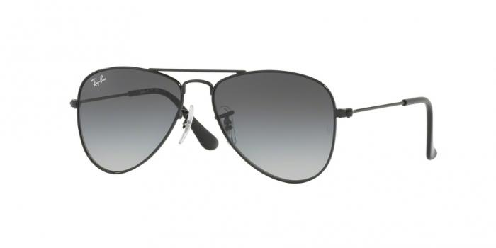 Gafas de sol Ray-Ban Junior RJ9506S 220/11 SHINY BLACK - LIGHT GREY GRADIENT DARK GREY