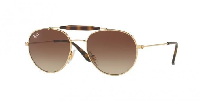 Gafas de sol Ray-Ban Junior RJ9542S 223/13 GOLD - BROWN GRADIENT