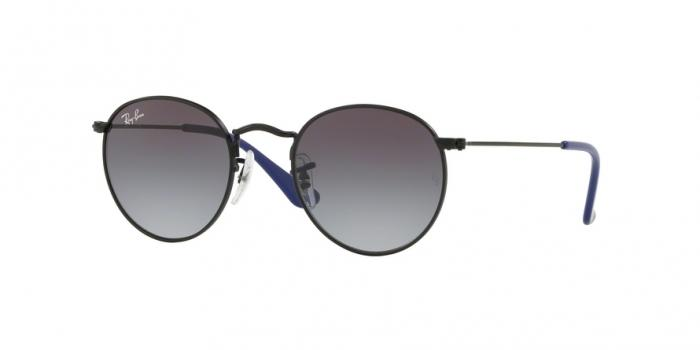 Gafas de sol Ray-Ban Junior RJ9547S 201/8G MATTE BLACK - LIGHT GREY GRADIENT DARK GREY
