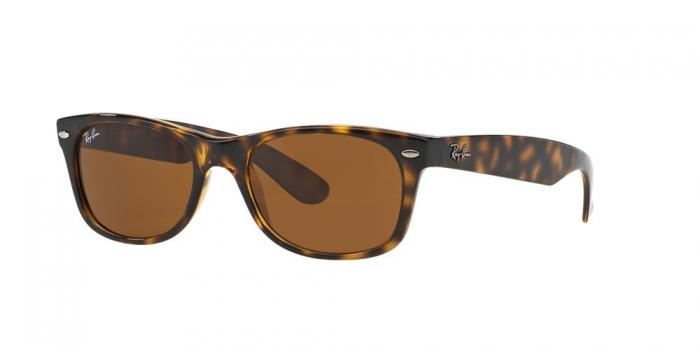 Gafas de sol Ray-Ban NEW WAYFARER RB2132 710 LIGHT HAVANA - CRYSTAL BROWN